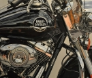 Harley Davidson 1, oil on canvas, cm 120×80, 2011